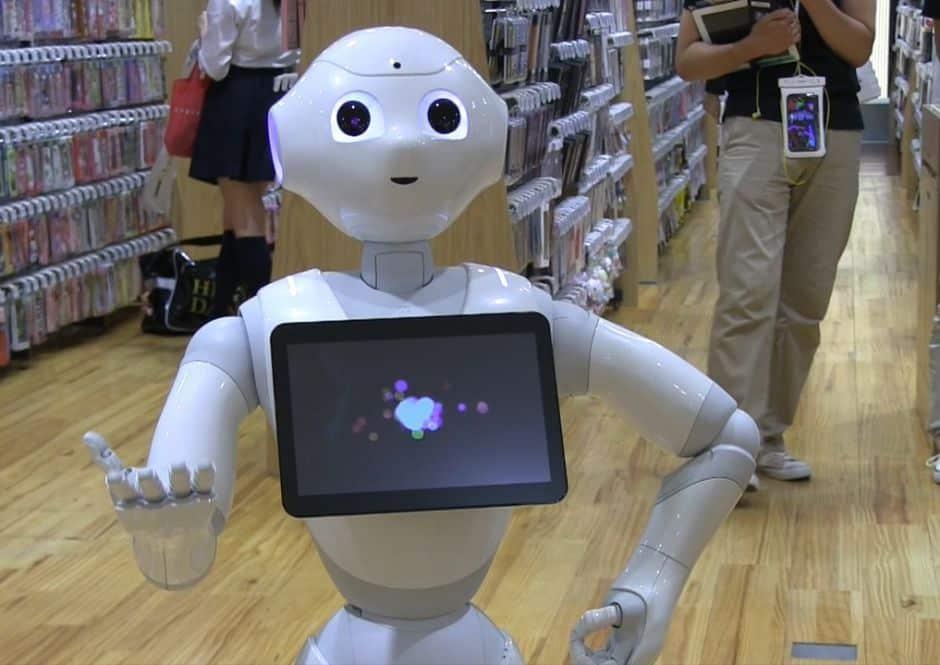 pepper le robot, animation-robot