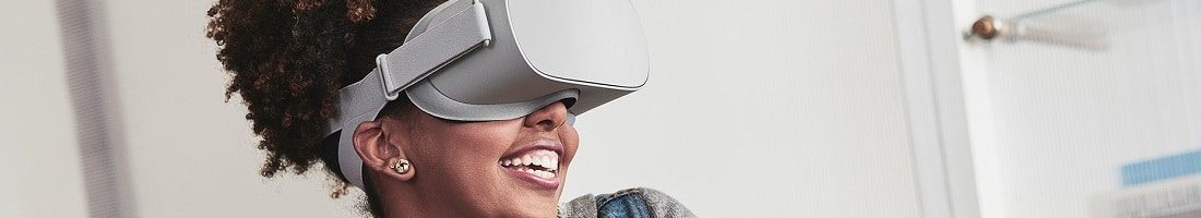 animation réalité virtuelle girl