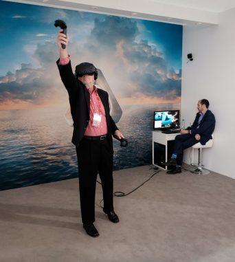 animation réalité virtuelle vive event