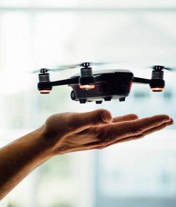 animation événement drone