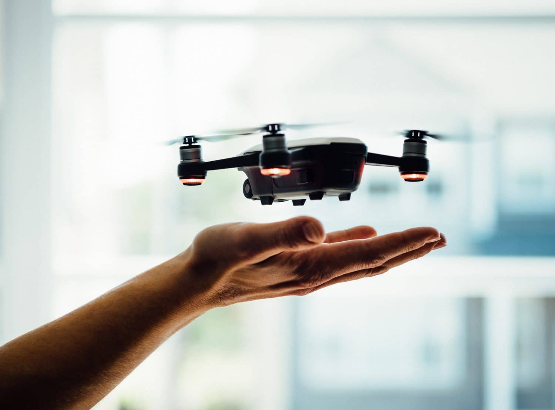 b2b drone, animation événement drone