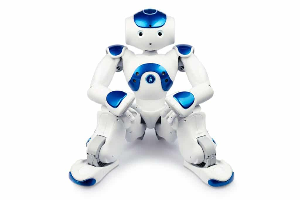 animation événement robot nao