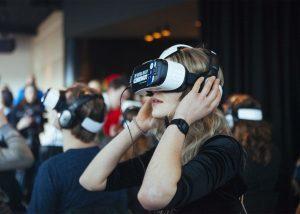 animation réalité virtuelle samsung gear vr