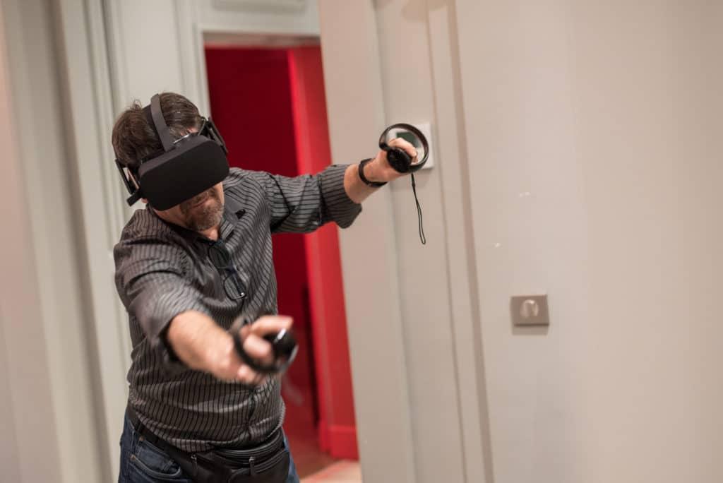 animation oculus rift homme the climb, réalité virtuelle