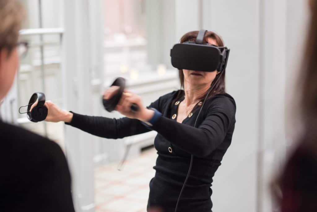 animation oculus rift the climb, réalité virtuelle