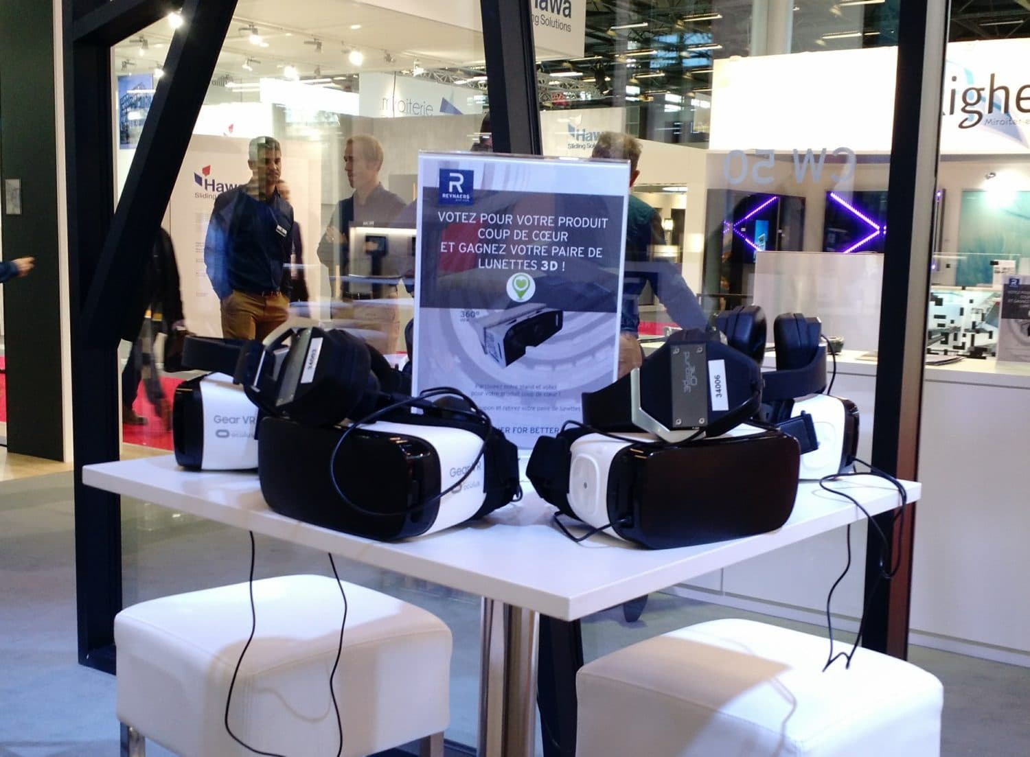 animation samsung gear vr et location samsung gear vr salon batimat reynaers