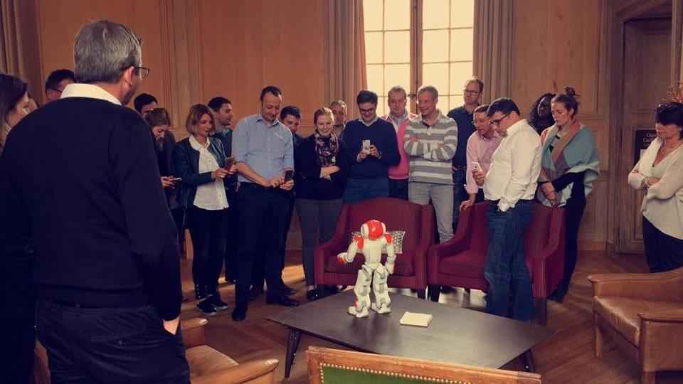 robot nao applications, animation robot nao salle privée