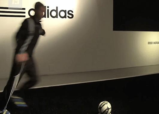 animation football ballon adidas