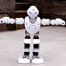 animation robot alpha petit