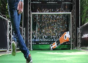 animation football goal