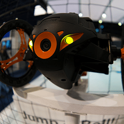 animation robot sumo petit