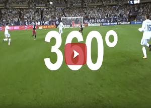 animation football 360 match
