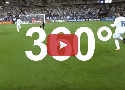 animation football vidéo 360