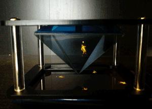 animation football hologramme