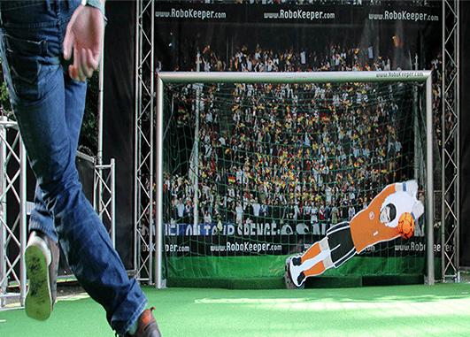 animation football tir au but
