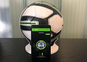 animation football objet connecté