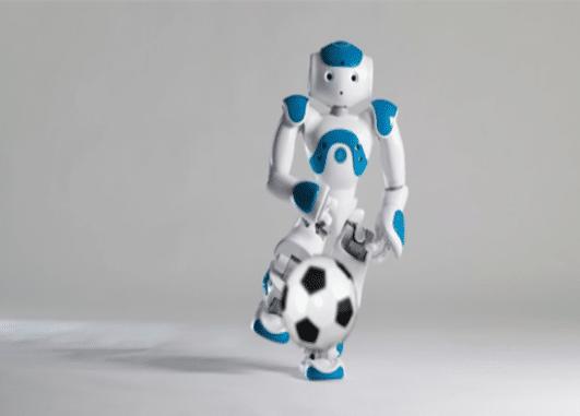 animation football nao robot