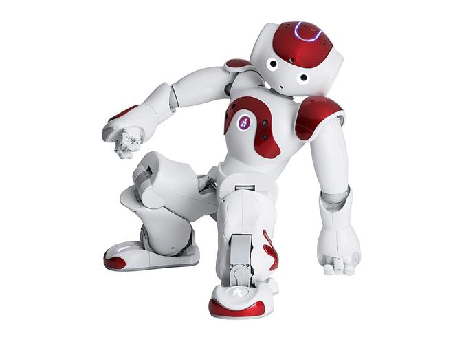 animation robot nao