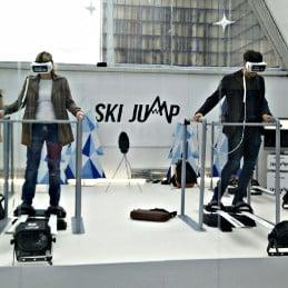 simulateur vr ski