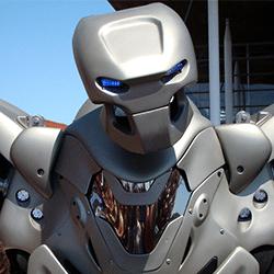animation robot titan petit