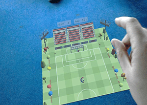 animation football finger foot