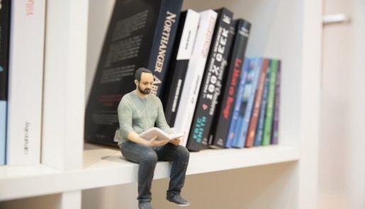 animation figurine 3d illustration