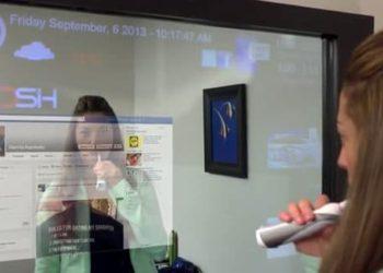 animation objets connectés miroir connecté