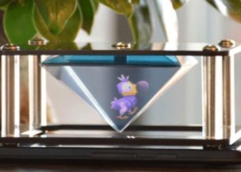 création hologramme smartphone