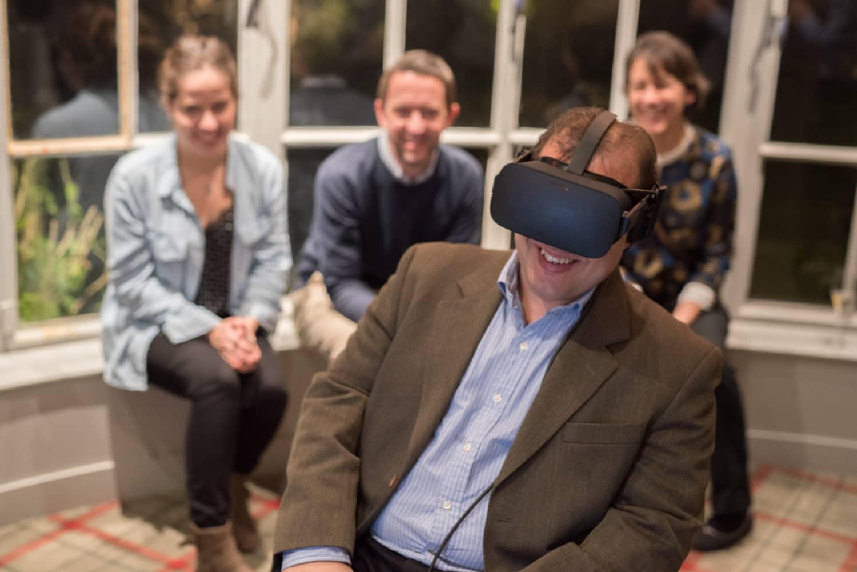 animation casque réalité virtuelle