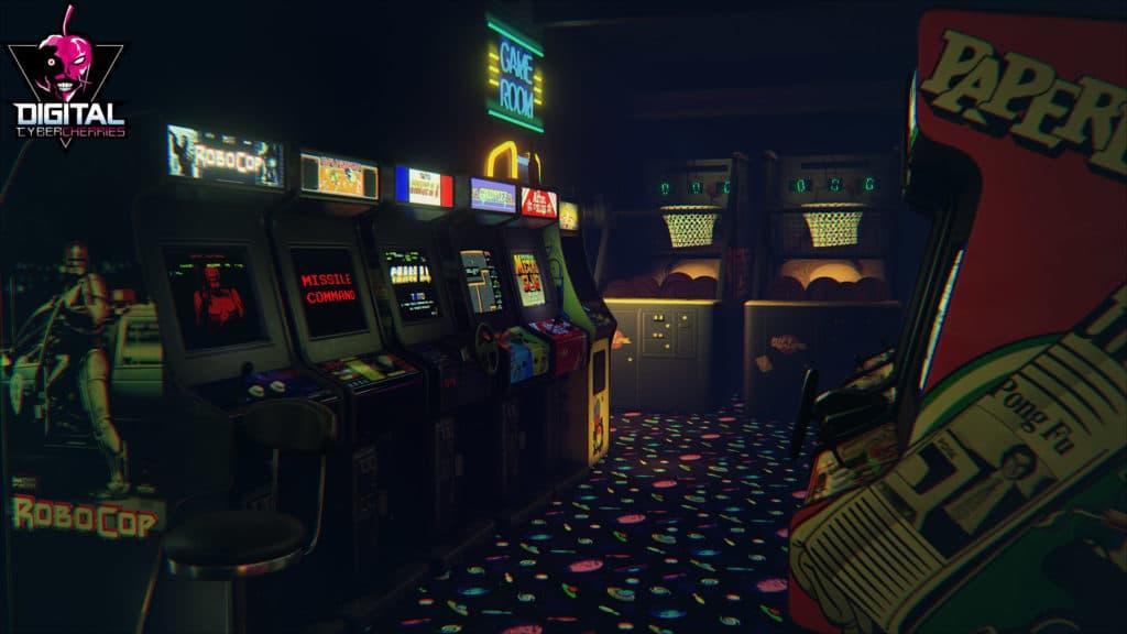 arcade de retro gaming