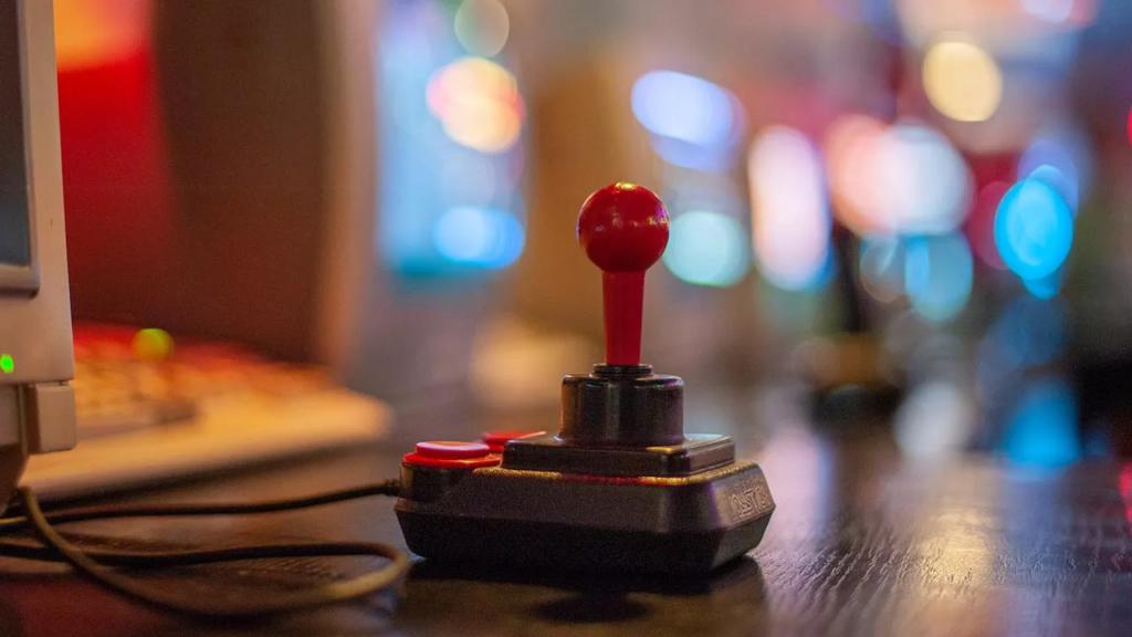 joystick retro gaming