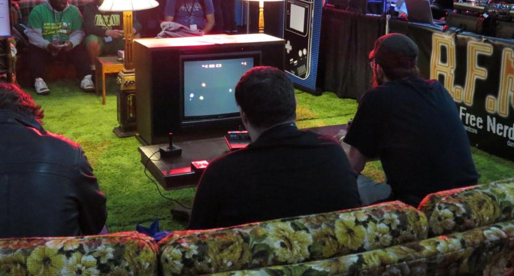 joueurs retro gaming