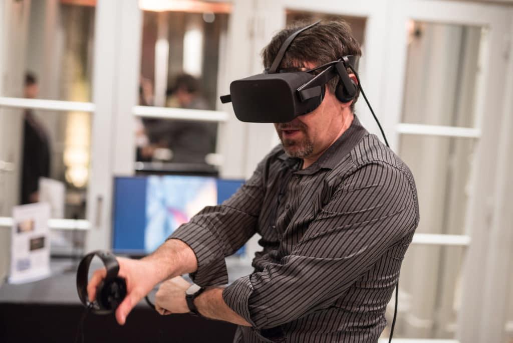 animation réalité virtuelle, oculus rift