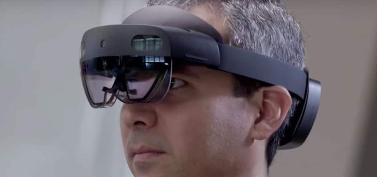 lunettes holographiques hololens