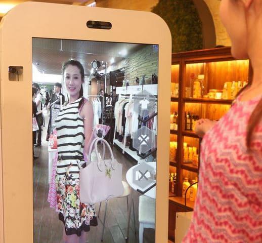 miroir en réalité augmentée