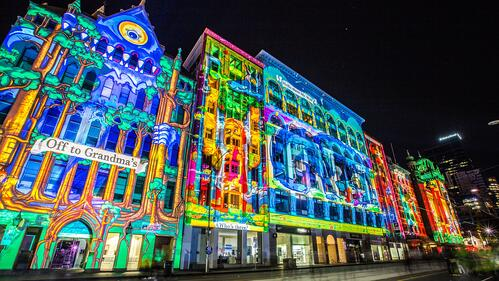 projection mapping, mapping vidéo