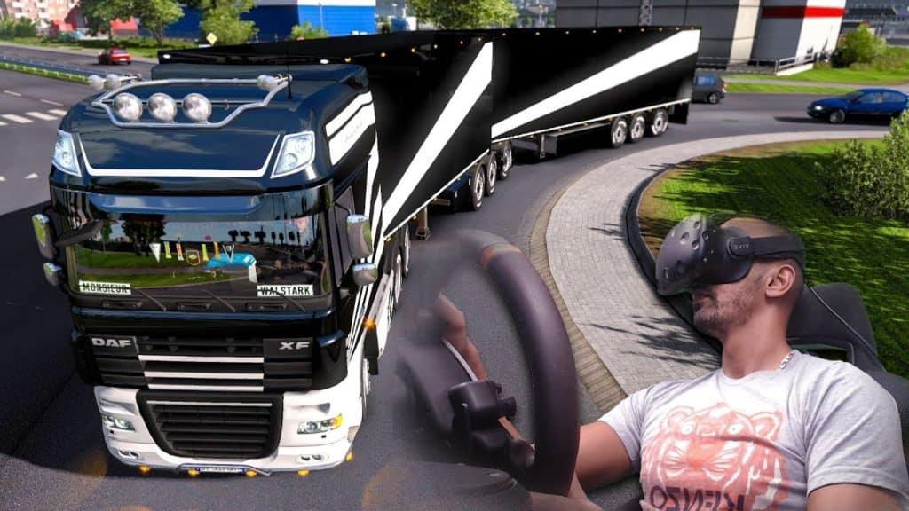simulateur camion vr