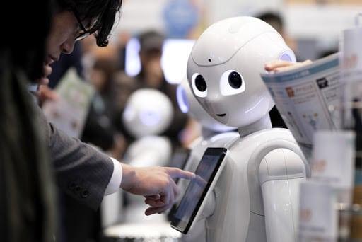 , pepper le robot, robot pepper