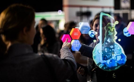 le miroir interactif
