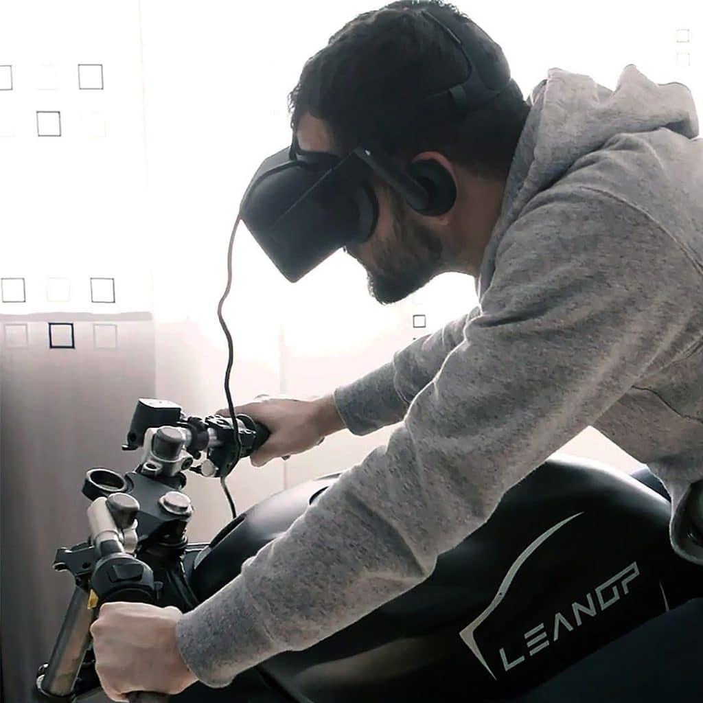 simulateur de moto vr