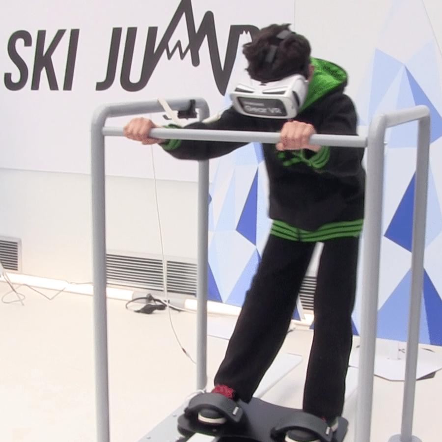 simulateur de ski 2