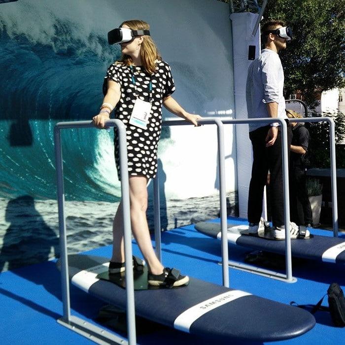 simulateur de surf