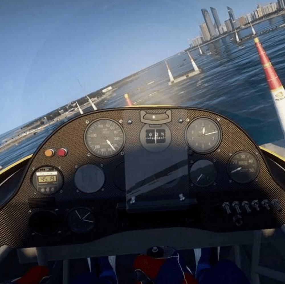 simulateur de vol vr
